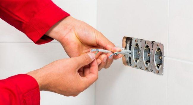 La rénovation électrique d'une maison